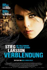 The Girl with the Dragon Tattoo - 11 x 17 Movie Poster - Swiss Style A