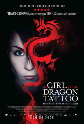 The Girl with the Dragon Tattoo - 27 x 40 Movie Poster - Canadian Style B