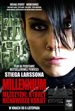 The Girl with the Dragon Tattoo - 11 x 17 Movie Poster - Polish Style A