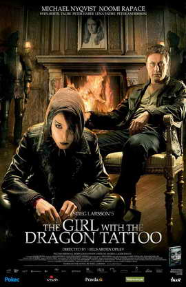 The Girl with the Dragon Tattoo - 11 x 17 Movie Poster - Style A