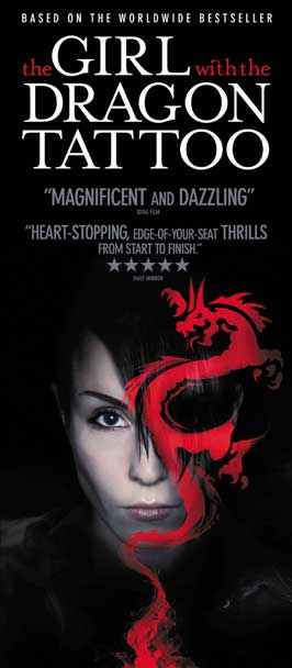 The Girl with the Dragon Tattoo - 13 x 30 Movie Poster - Australian Style A
