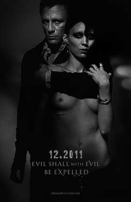 The Girl with the Dragon Tattoo - 11 x 17 Movie Poster - Style B