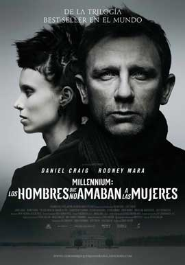 The Girl with the Dragon Tattoo - 43 x 62 Movie Poster - Spanish Style A