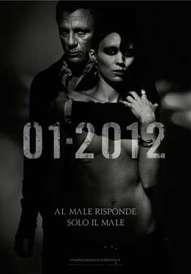 The Girl with the Dragon Tattoo - 43 x 62 Movie Poster - Italian Style A