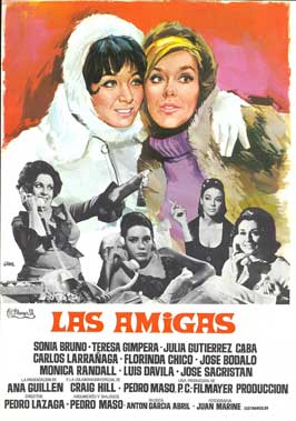 The Girlfriends - 11 x 17 Movie Poster - Spanish Style A