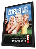 The Girls Next Door - 11 x 17 TV Poster - Style A - in Deluxe Wood Frame