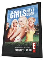 The Girls Next Door - 27 x 40 TV Poster - Style A - in Deluxe Wood Frame