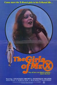 The Girls of Mr. X - 27 x 40 Movie Poster - Style A