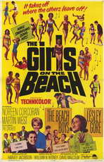 The Girls On the Beach - 11 x 17 Movie Poster - Style A