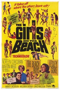 The Girls On the Beach - 27 x 40 Movie Poster - Style A