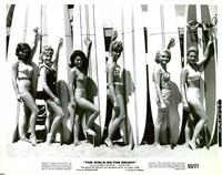 The Girls On the Beach - 8 x 10 B&W Photo #19
