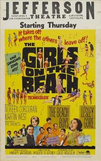 The Girls On the Beach - 11 x 17 Movie Poster - Style C