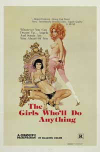 The Girls Who'll Do Anything - 43 x 62 Movie Poster - Bus Shelter Style A