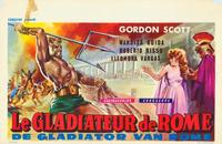 The Gladiator of Rome - 27 x 40 Movie Poster - Belgian Style A