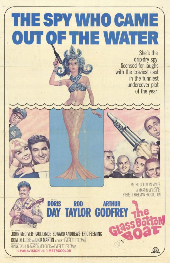 Cast Of The Glass Bottom Boat