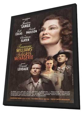 The Glass Menagerie (Broadway) - 11 x 17 Poster - Style A - in Deluxe Wood Frame