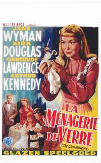 The Glass Menagerie - 14 x 22 Movie Poster - Belgian Style A