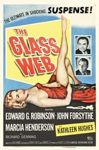 The Glass Web - 27 x 40 Movie Poster - Style A