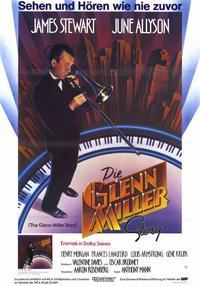 The Glenn Miller Story - 11 x 17 Movie Poster - German Style A