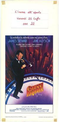 The Glenn Miller Story - 11 x 17 Movie Poster - Italian Style A