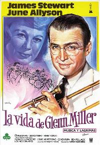 The Glenn Miller Story - 27 x 40 Movie Poster - Spanish Style A