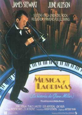 The Glenn Miller Story - 11 x 17 Movie Poster - Spanish Style B