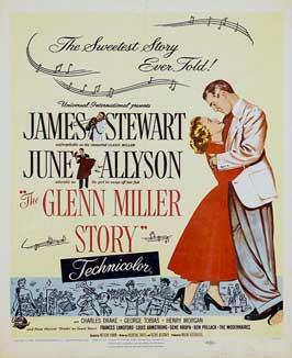 The Glenn Miller Story - 11 x 17 Movie Poster - Style E