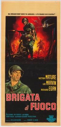 The Glory Brigade - 11 x 17 Movie Poster - Italian Style A