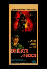 The Glory Brigade - 27 x 40 Movie Poster - Italian Style A
