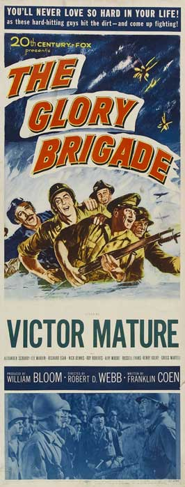 The Glory Brigade - 14 x 36 Movie Poster - Insert Style A