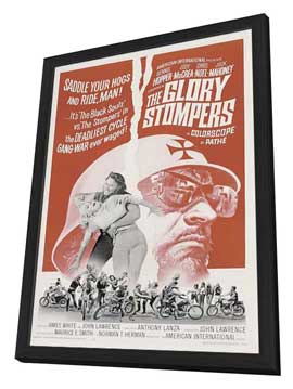 The Glory Stompers - 27 x 40 Movie Poster - Style A - in Deluxe Wood Frame