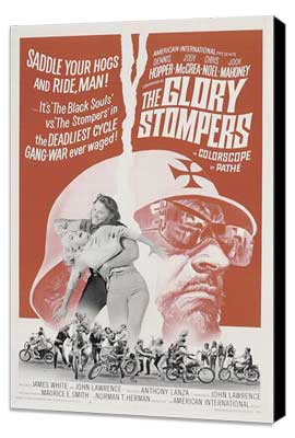 The Glory Stompers - 27 x 40 Movie Poster - Style A - Museum Wrapped Canvas