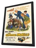 The Gnome-Mobile - 11 x 17 Movie Poster - Style A - in Deluxe Wood Frame