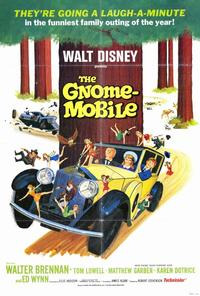 The Gnome-Mobile - 27 x 40 Movie Poster - Style B
