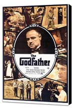 The Godfather - 11 x 17 Movie Poster - Style A - Museum Wrapped Canvas