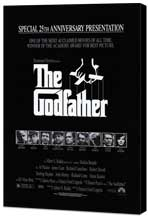 The Godfather - 27 x 40 Movie Poster - Style K - Museum Wrapped Canvas