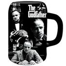 The Godfather - The Vito Corleone Black Ceramic Stein