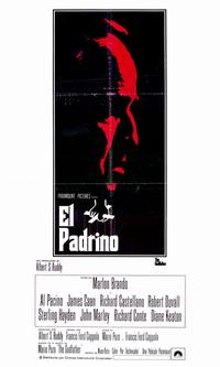 The Godfather - 11 x 17 Movie Poster - Spanish Style A