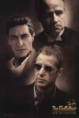 The Godfather - 11 x 17 Movie Poster - Style Q