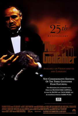 The Godfather - 27 x 40 Movie Poster - Style D