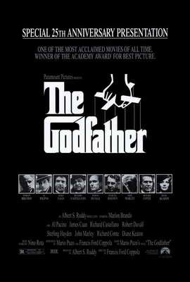 The Godfather - 27 x 40 Movie Poster - Style K