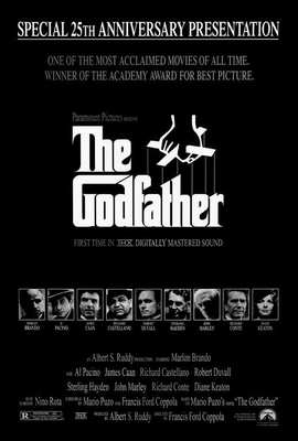 The Godfather - 27 x 40 Movie Poster - Style E