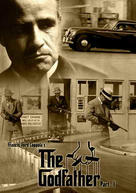 The Godfather - 11 x 17 Movie Poster - Style T