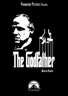 The Godfather - 11 x 17 Movie Poster - Style U