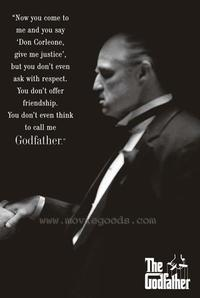 The Godfather - Movie Poster - 24 x 36 - Style I