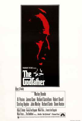 The Godfather - 27 x 40 Movie Poster - UK Style A