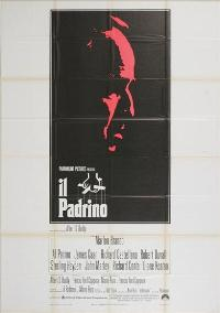 The Godfather - 11 x 17 Movie Poster - Italian Style A