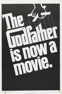 The Godfather - 27 x 40 Movie Poster - Style X