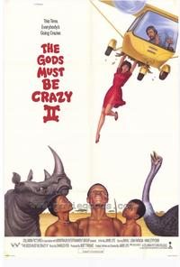 The Gods Must Be Crazy 2 - 11 x 17 Movie Poster - Style B