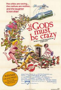 The Gods Must Be Crazy - 27 x 40 Movie Poster - Style A